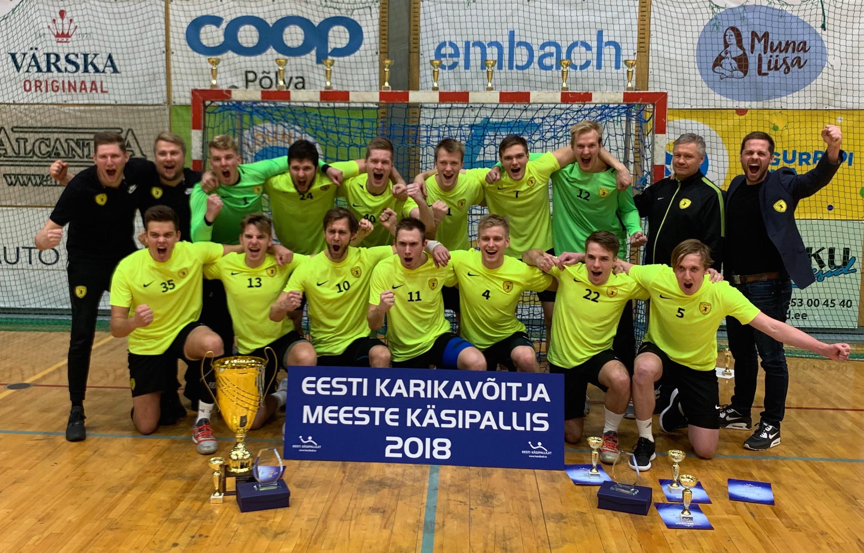 c9cf85555ff 02 Dec HC Tallinn alistas finaalis Serviti ja võitis esmakordselt Eesti  karika + mängu VIDEO